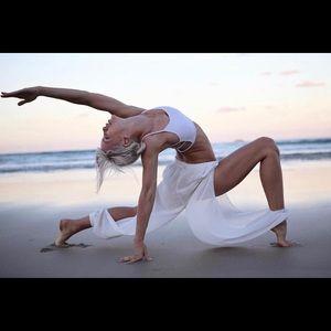 Flexi Lexi Fitness White Heidi Harem Pants